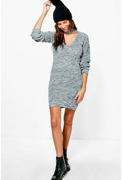 Zoe Choker Jumper Dress