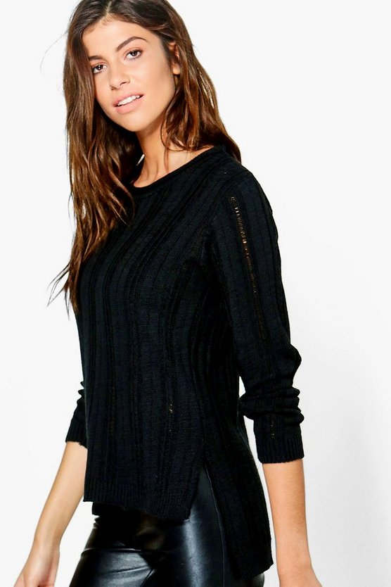 Beth Ladder Stitch Jumper