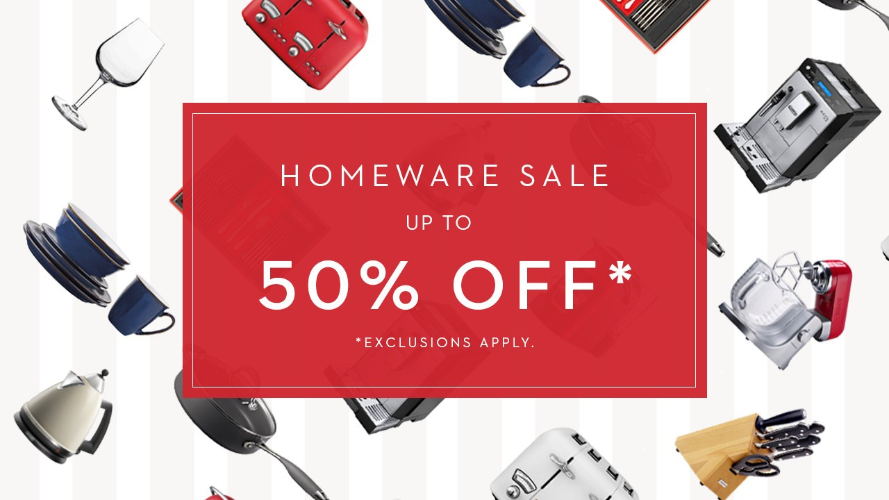 THE HOMEWARE SALE