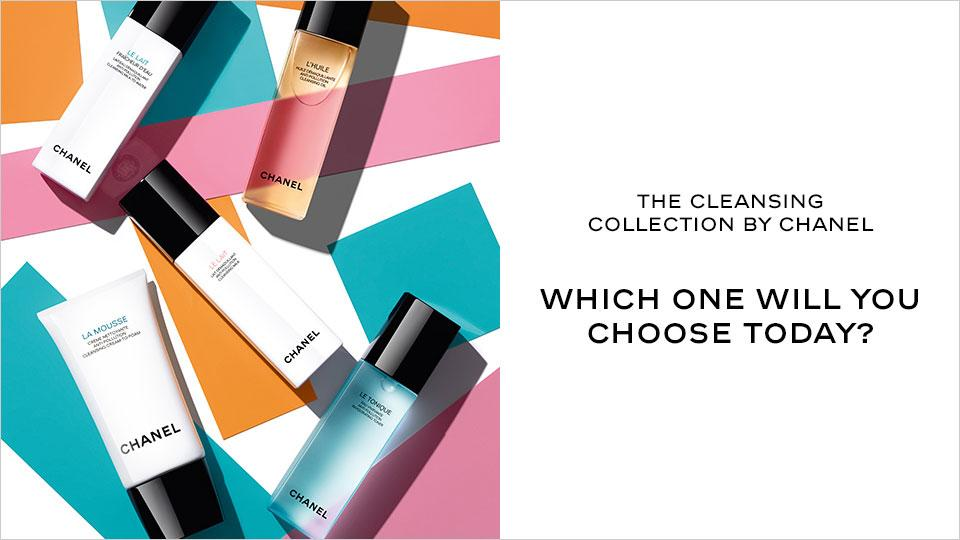 The cleansing collection by Chanel