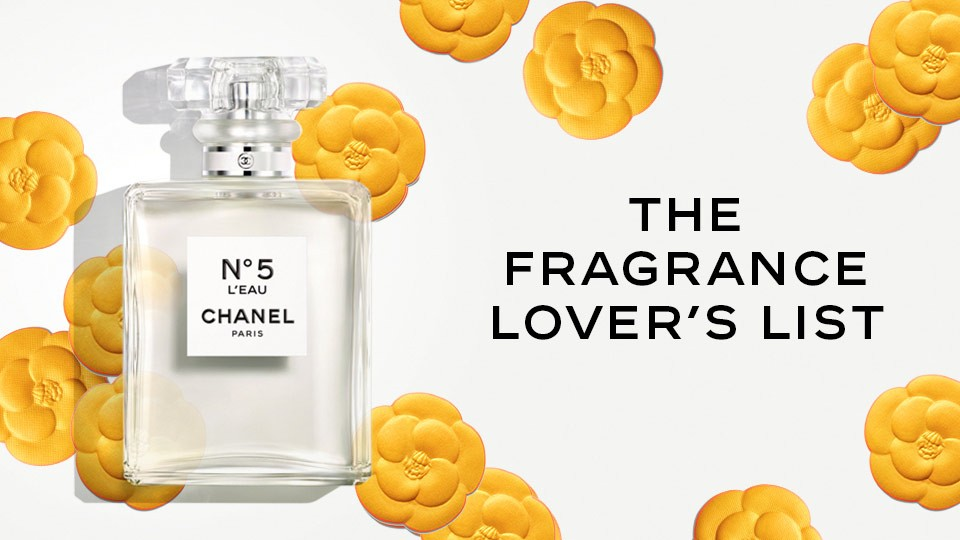 Chanel Fragrance Lovers List