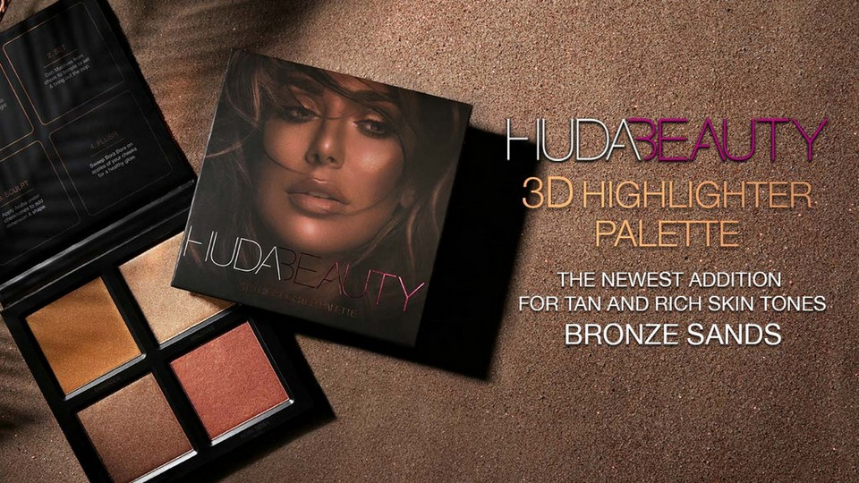 Huda Beauty - 3D Highlighter Palette