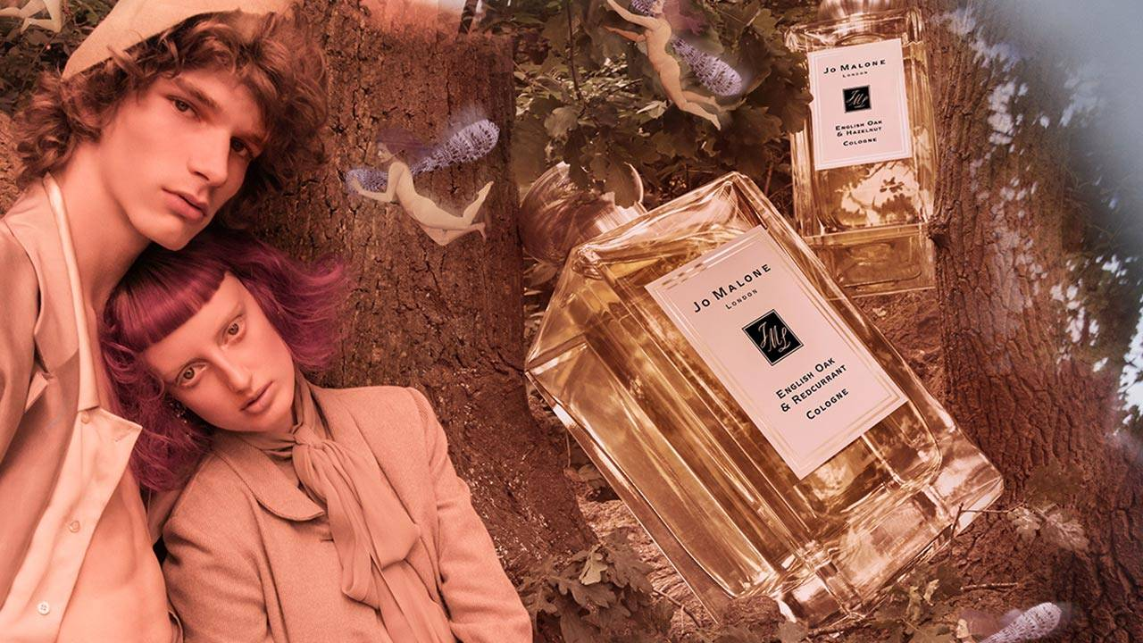 Jo Malone English Oak and Redcurrant Hazelnut Launch