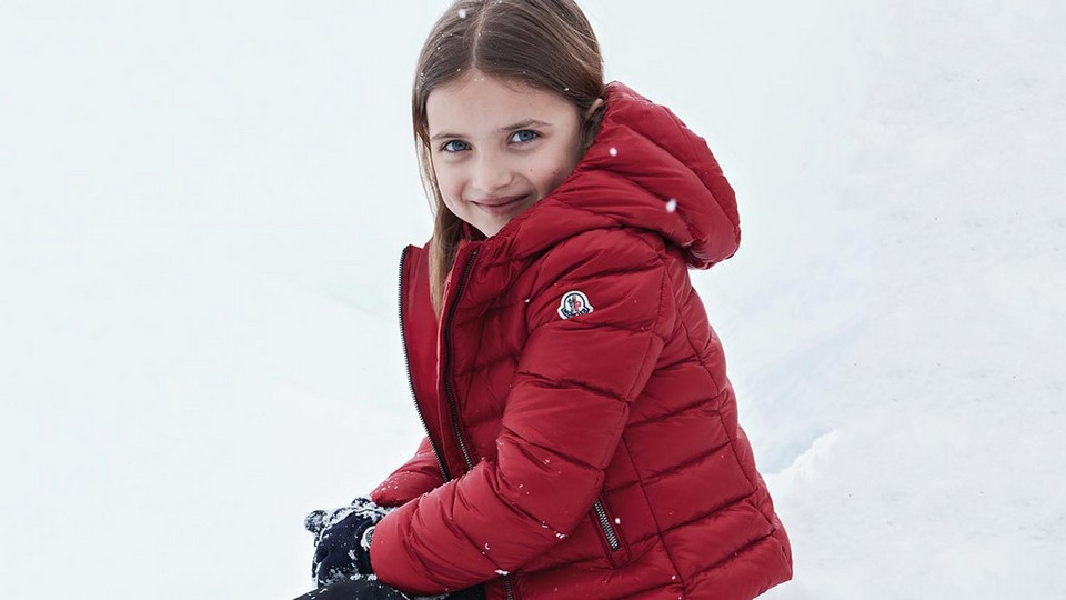 Keep them cosy and warm in mini-me coats from Moncler
