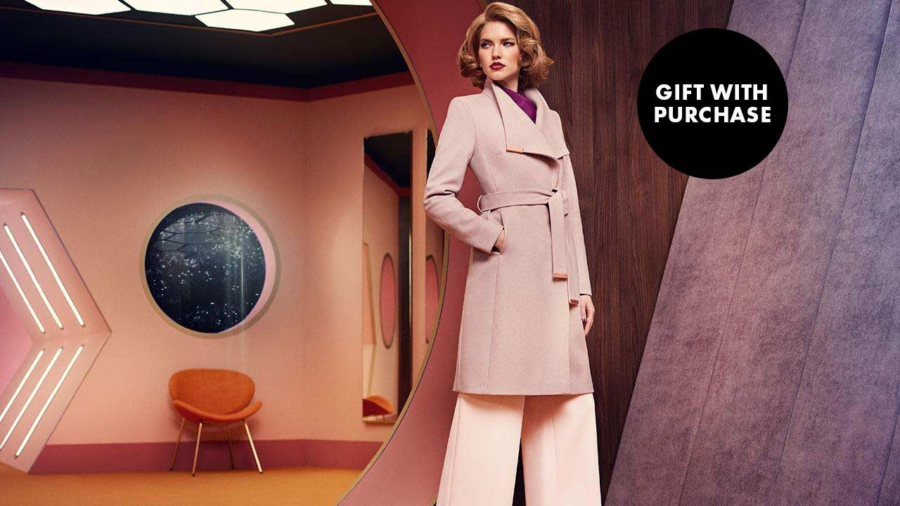 TED BAKER ONLINE NOW