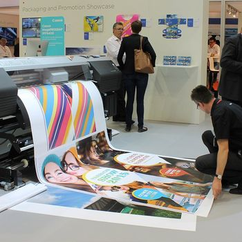 Large format print applications showcase