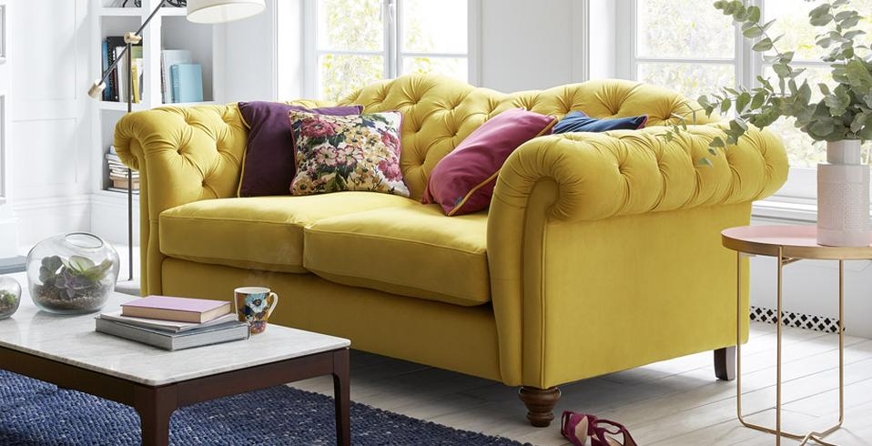 Joules Windsor 3 Seater Sofa