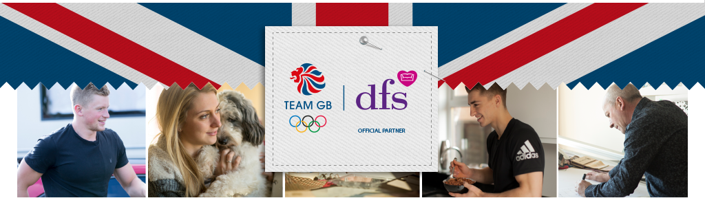 DFS official partnership with team GB