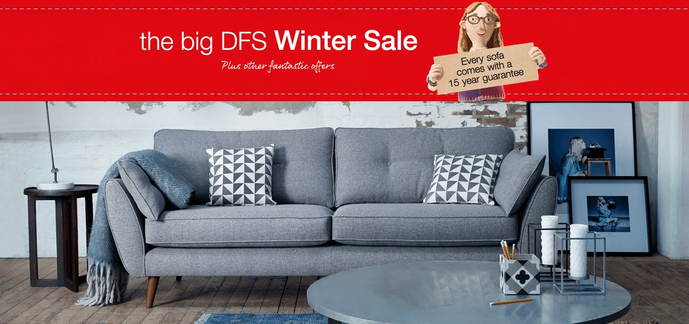 The big DFS Winter Sale featuring
