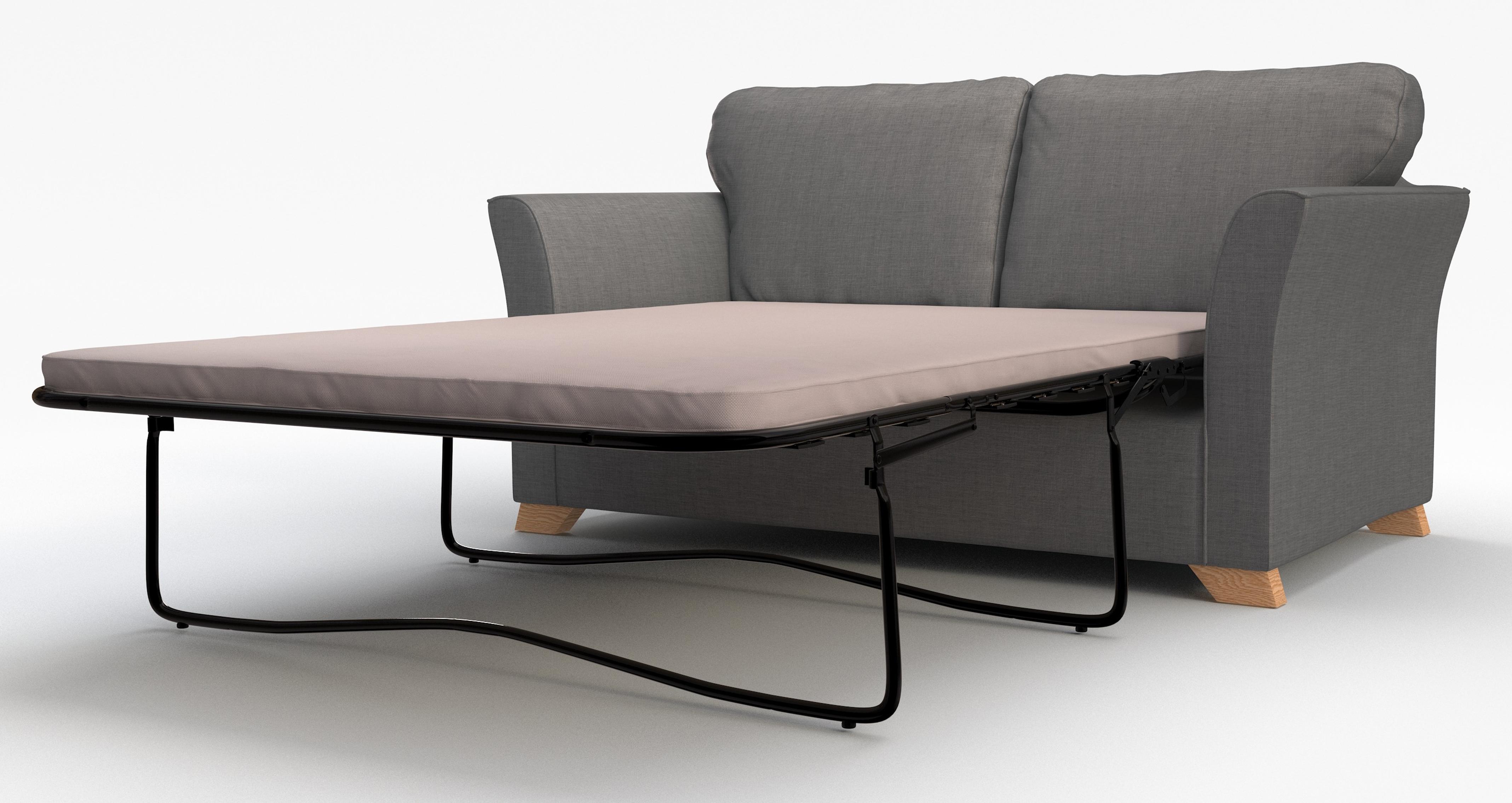 Dfs Zuma Slate Fabric Range 3 Seater 2 Str Sofa Bed