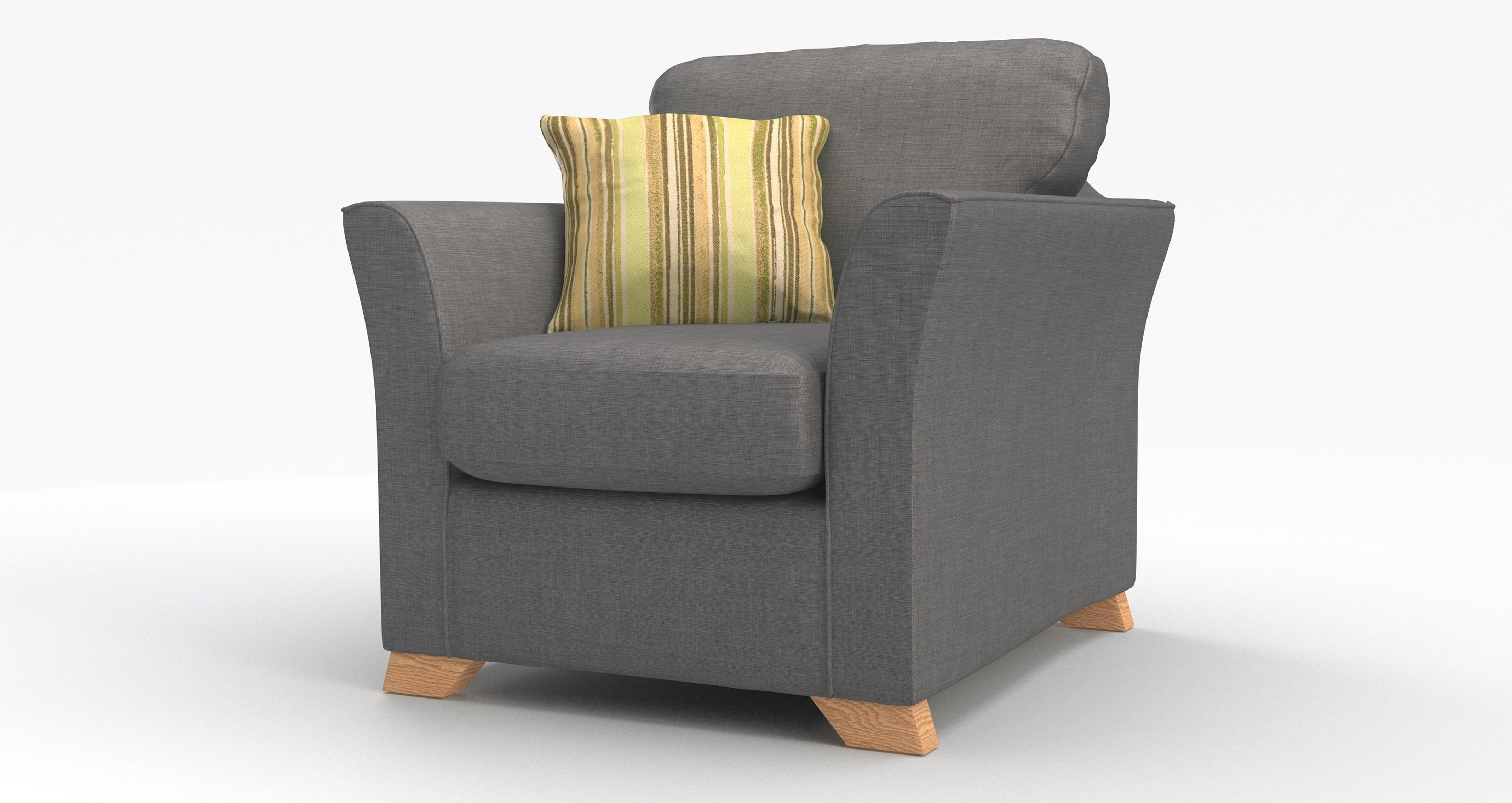 DFS Zuma Slate Fabric Range - 3 Seater, 2 Str, Sofa Bed ...