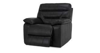 Active Leather and Leather Look Manual Recliner Chair