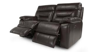 Active Leather and Leather Look 2 Seater Electric Recliner