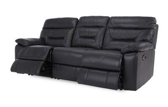 Leather and Leather Look 3 Seater Electric Recliner Essential