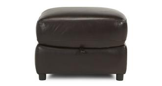 Active Leather and Leather Look Storage Footstool