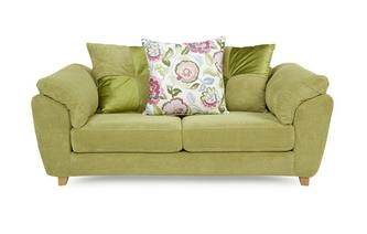 2 Seater Pillow Back Sofa Addison