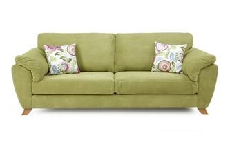 4 Seater Formal Back Sofa Addison