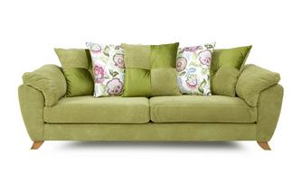 4 Seater Pillow Back Sofa Addison