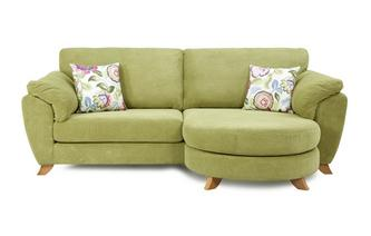 4 Seater Formal Back Lounger Sofa Addison