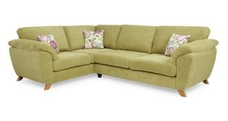 Addison Right Hand Facing 3 Seater Formal Back Corner Sofa