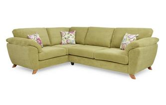 Right Hand Facing 3 Seater Formal Back Corner Sofa Addison