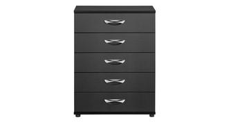 Adonis 5 Drawer Wide Chest