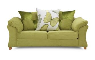 2 Seater Pillow Back Sofa Capulet