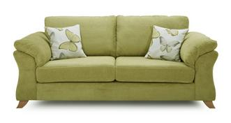 Alegra 3 Seater Formal Back Sofa