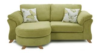 Alegra 3 Seater Formal Back Lounger Sofa