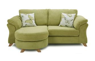 3 Seater Formal Back Lounger Sofa Capulet