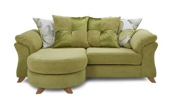 3 Seater Pillow Back Lounger Sofa Capulet