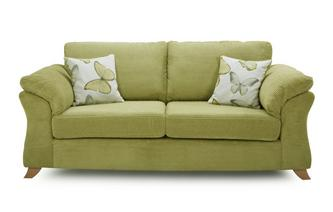 3 Seater Formal Back Sofa Bed Capulet