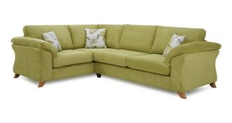 Alegra Right Hand Facing 3 Seater Formal Back Corner Sofa