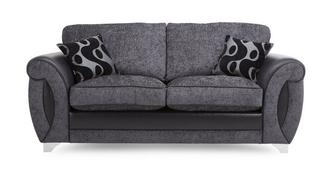 Alessa 2 Seater Formal Back Sofa Bed