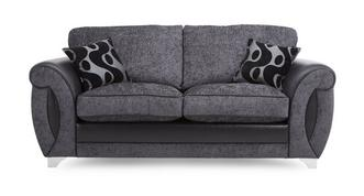 Alessa 2 Seater Formal Back Deluxe Sofa Bed