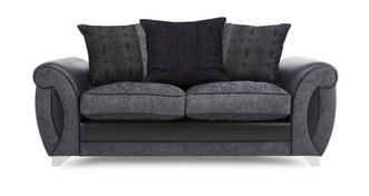 Alessa 2 Seater Pillow Back Deluxe Sofa Bed