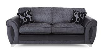 Alessa 3 Seater Formal Back Sofa