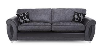 Alessa 4 Seater Formal Back Sofa