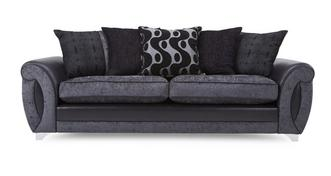 Alessa 4 Seater Pillow Back Sofa