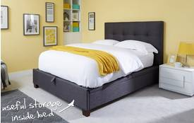 Alicia Double (4 ft 6) Bedframe Alicia
