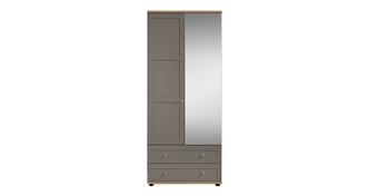 Allerton 2 Door 2 Drawer Mirror Robe