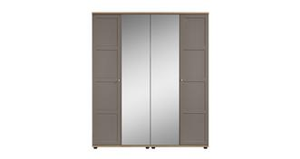 Allerton 4 Door Mirror Robe