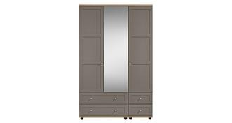 Allerton 3 Door 4 Drawer Mirror Robe