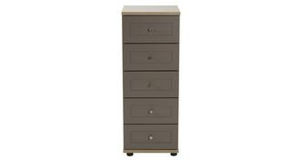 Allerton 5 Drawer Narrow Chest