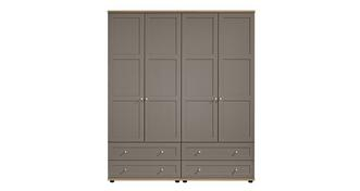 Allerton 4 Door 4 Drawer Robe
