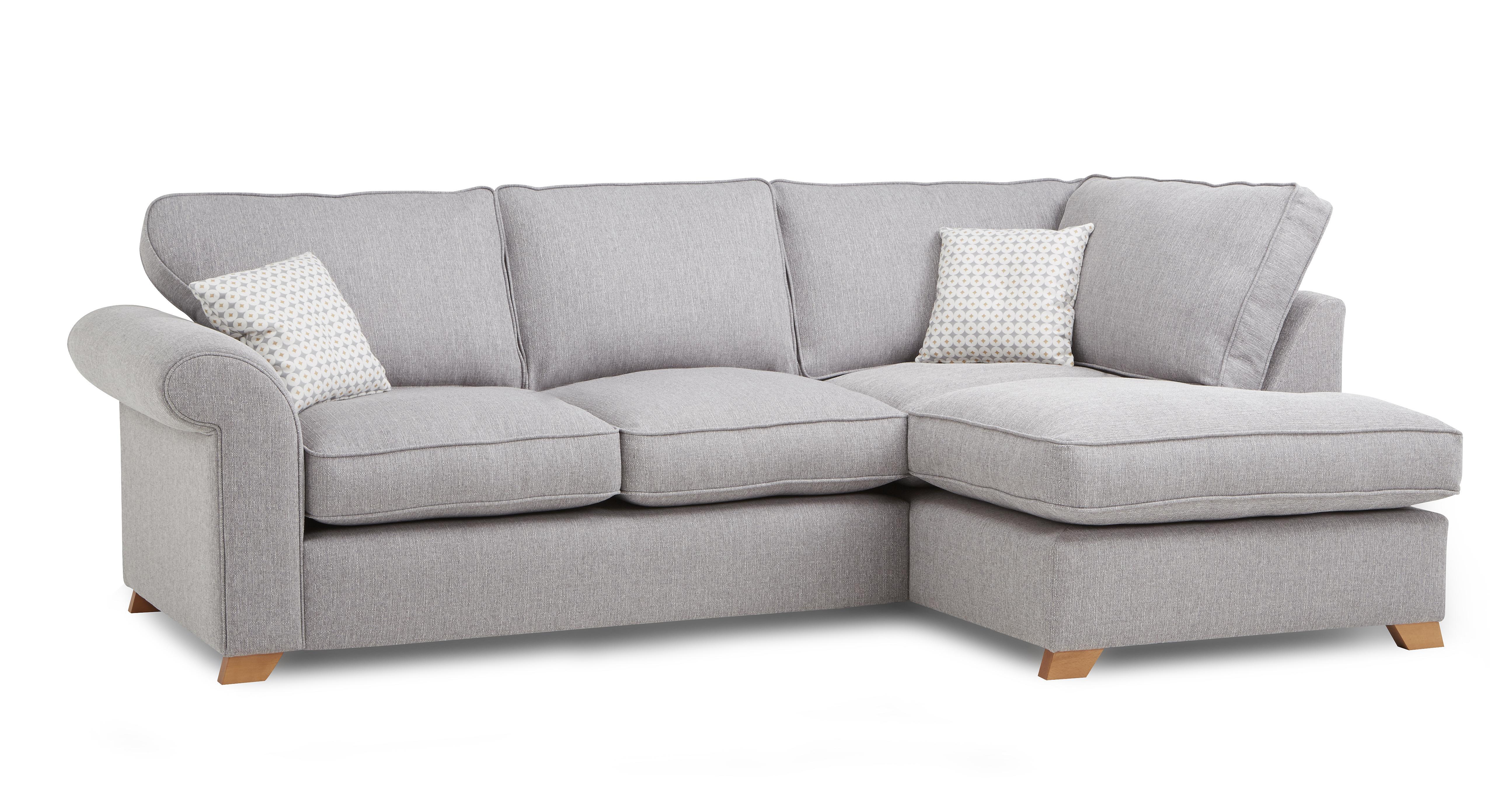 Angelic Left Arm Facing Corner Deluxe Sofa Bed DFS