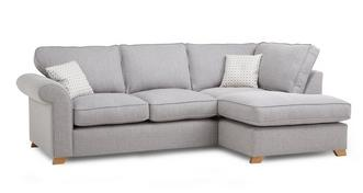 Angelic Left Arm Facing Corner Deluxe Sofa Bed