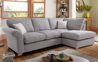 Angelic Left Arm Facing Corner Deluxe Sofa Bed Angelic