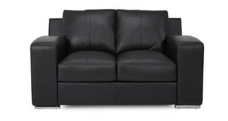 Anvil Leather and Leather Look 2 Seater Sofa