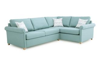 Left Arm Facing Corner Deluxe Sofa Bed